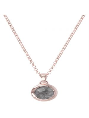 Bronzalure Grey Quartz Pendant