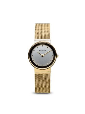Bering - Classic Polished Gold Ladies Watch 3