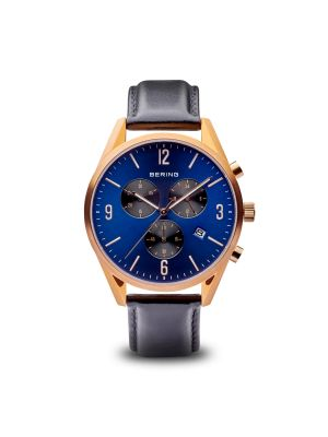 Polished Rose Gold Bering Watch