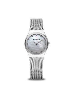 Ladies Bering Stainless Steel Milanese Strap Watch