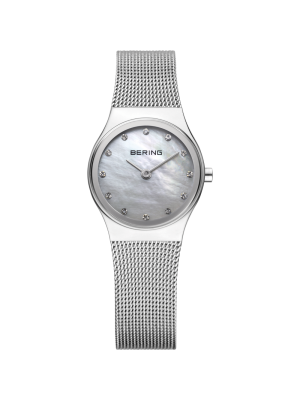 Bering Stainless steel milanese strap ladies watch
