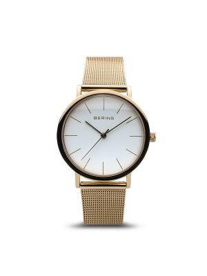 Classic Polished Gold Bering Ladies Watch