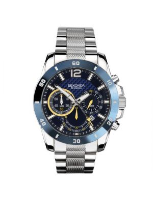 Gents Sekonda Stainless Steel Bracelet Chronograph Watch