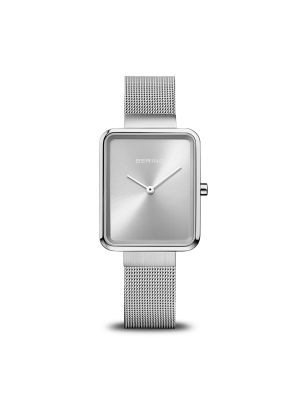 Classic Polished / Brushed Silver Bering Watch