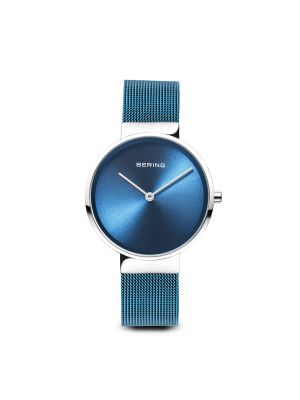 Classic Polished Silver Bering Watch