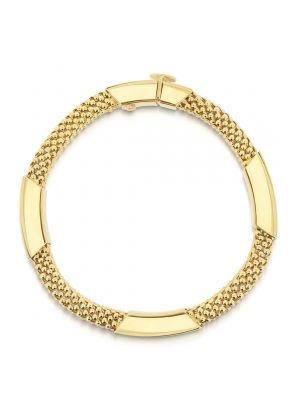 14ct Yellow Gold Mesh Bracelet