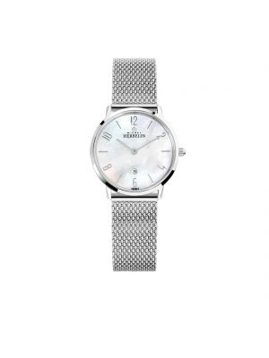 Michel Herbelin Ladies Stainless Steel Ikone Milanese Bracelet Watch