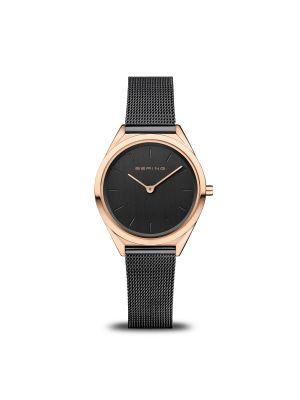 Ultra Slim | polished rose gold bering watch