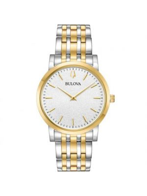 Gents Bulova Two Tone Classic Watch