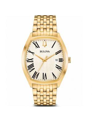 Gents Bulova Gold Tone Watch