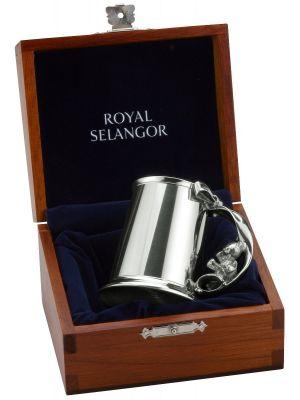 Royal Selangor Pewter Christening mug with Gift box