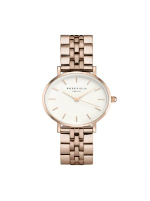 Rosefield The Small Edit White Steel Rose Gold
