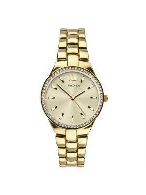 Sekonda Women's Gold Plated Bracelet Watch