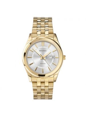 Sekonda Men's Classic Gold Plated Bracelet Watch 3450
