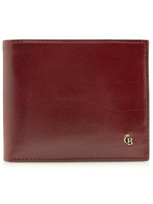 Burgundy nine card RFID wallet