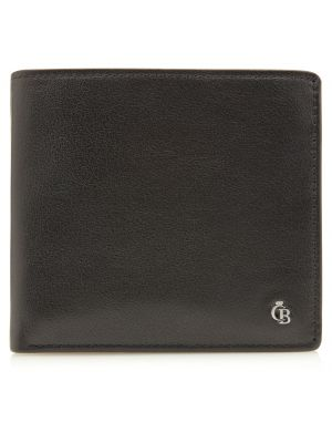 Black seven card billfold RFID wallet