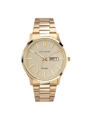 Accurist Men's Champagne Dial Watch