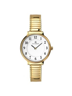 Accurist Women's Gold Expander Watch