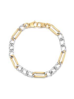 9ct Two Tone Bracelet