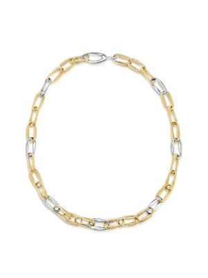 14ct Yellow & White Gold Necklace