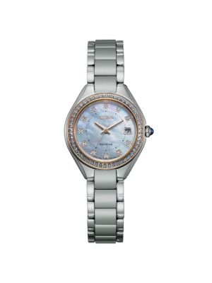 Citizen Silver-Tone Silhouette Crystal Ladies Watch