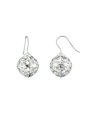 Englesrufer sterling silver drop earrings