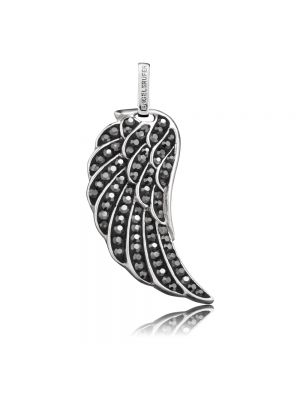 Englesrufer Sterling silver grey angel wing