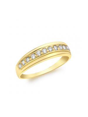 9ct Cubic Zirconia Eternity Ring