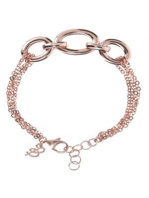 Bronzallure Purezza Oval Forzatina Rose Bracelet