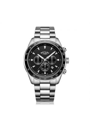 Gents Rotary Black henley gents chronograph watch
