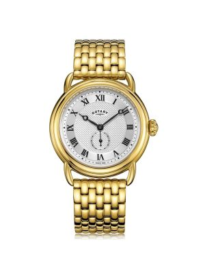 Gents Rotary Gold Canterbury Watch