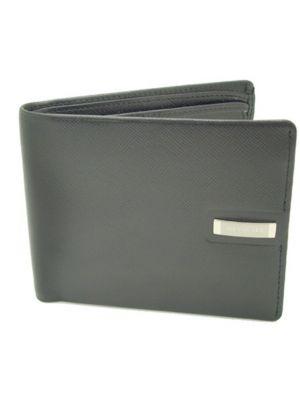 Jos Von Arx Stylish Black Leather Wallet