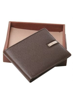 Brown Italian Leather Wallet