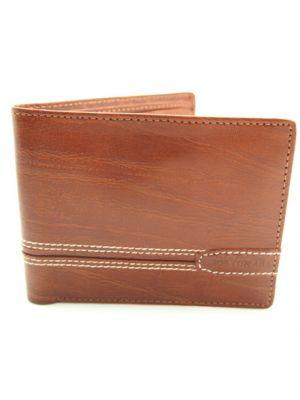 Jos Von Arx Tan Leather Wallet