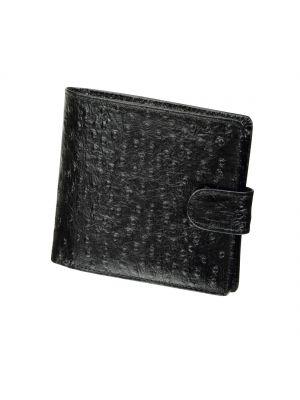 Jos Von Arx Black Leather Wallet
