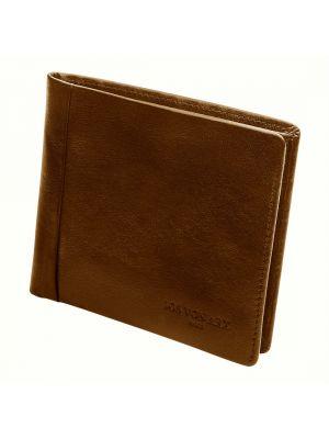 Jos Von Arx Classic Brown Leather Wallet