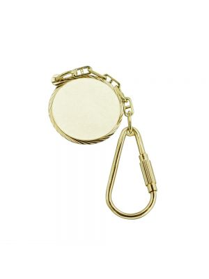 9ct yellow gold keyring
