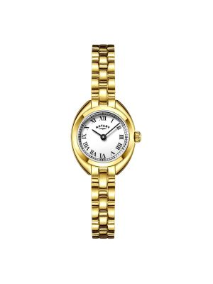 Rotary Ladies gold plated dress watch