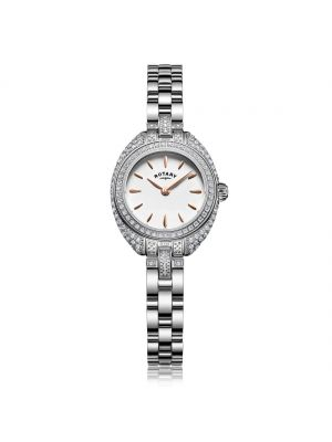 Rotary Petite Ladies Stone Set Bracelet Watch