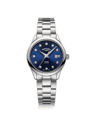 Ladies Rotary Stainless Steel Oxford Diamonds Watch