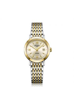 Rotary Two Tone Gold Windsor Ladies