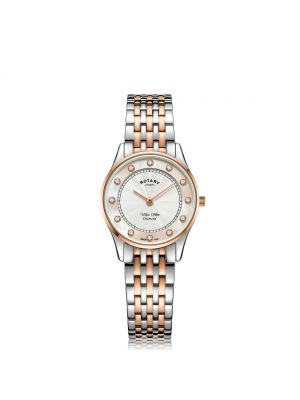 Rotary Ultra Slim Two Tone Rose Gold watch
