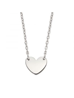 Sterling Silver Adult's Heart Necklace