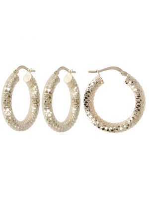 9ct Gold Chunky Hoop Earring