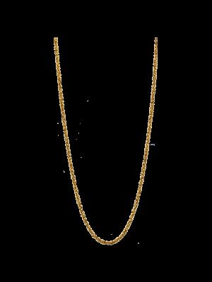 Destello 925 Silver Gold Plated Chain