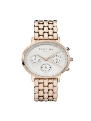 Rosefield The Chrono White Rose Gold