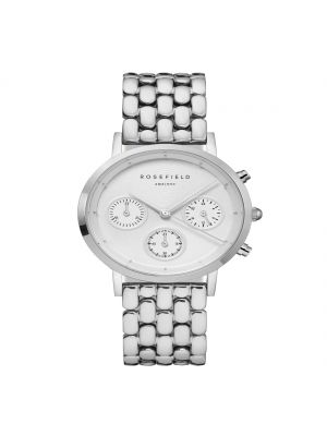 Rosefield The Chrono White Silver