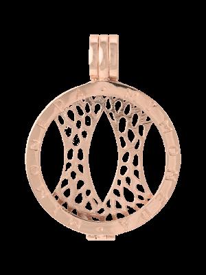 925 Silver Rose Gold Plated Medium Pendant