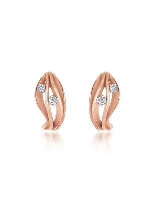 18ct Pink Champagne Gold Annamaria Cammilli Stud Earrings
