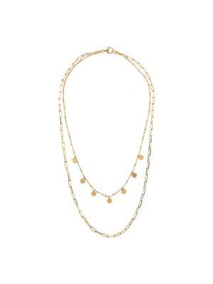 Bronzallure Golden 2 Strands Graduated Necklace